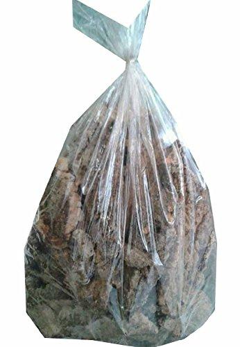 750 grammi di sughero corteccia in pezzi per presepe consegna in busta pezzi misti di varie dimenzioni e spessore