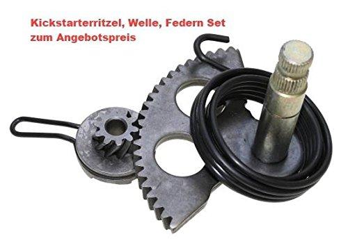 Unbranded KICKSTARTER Welle Feder HEBEL RITZEL ANTRIEB Set f/ür Piaggio GILERA TPH 50 Luft