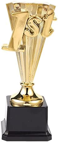 Juvale Award Trophy 1st Place Gold Plastic Trophy for Sports Tournaments Competitions 8 in product image