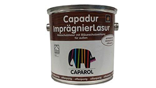 Caparol Capadur impraegnier LASUR LASUR Custodia in legno bianco contro Funghi 2.5L