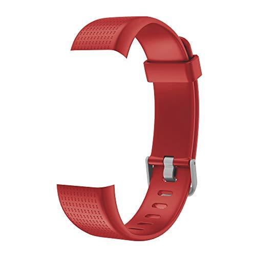 Willful Ersatz Armband Fitness Armband mit Pulsmesser (Rot)