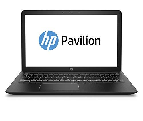 HP Pavilion Power 15-cb037nl Notebook, Intel Core I7-7700HQ, 16 GB RAM, SATA 1 TB, 128 GB SSD, Nvidia GeForce GTX 1050, 4 GB GDDR 5, Schermo FHD IPS WLED 15,6', 1920 X 1080, Nero Ombra