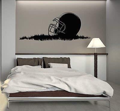 Wall Decal American Football Helmet Sport Boys Room Mural Vinyl Sticker VS2817