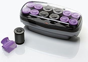 Conair Xtreme Instant Heat Ceramic Hot Rollers Bonus Super Clips Include Purple 1 Count