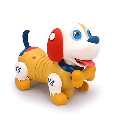 QqHAO Juguete eléctrico táctil de inducción de Perro Mascota Inteligente para niños niños y niñas de 4 a 6 años