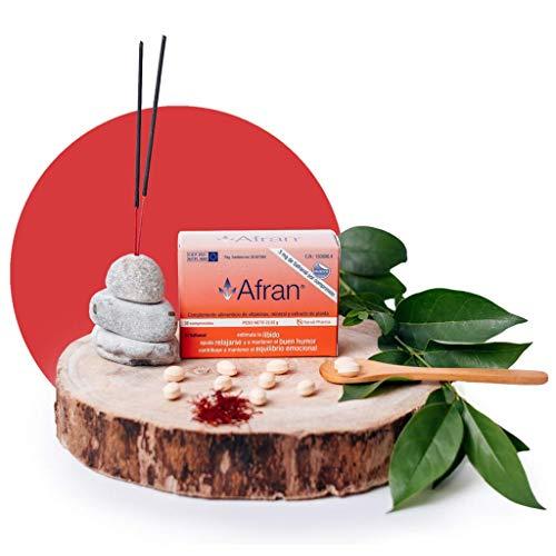 Afran 30 comprimidos - Ayúdate a mantener el equilibrio emocional y el buen humor gracias al Safranal - Narval Pharma