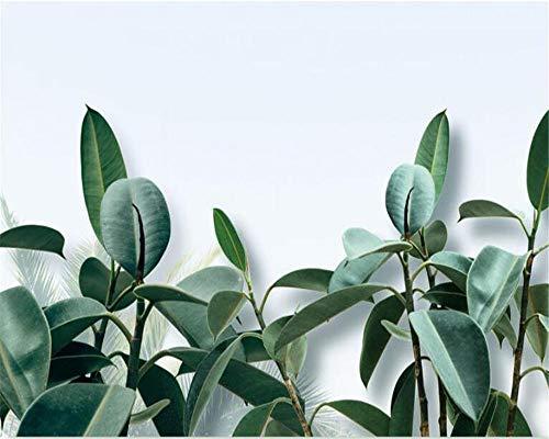 SFALHX Mural Papel Pintado Vegetación moderna Decoración foto Fondo de la habitación de los niños Pintura de la Pared Papel Tapiz decoración de la Sala de estar400x280cm (WxH)