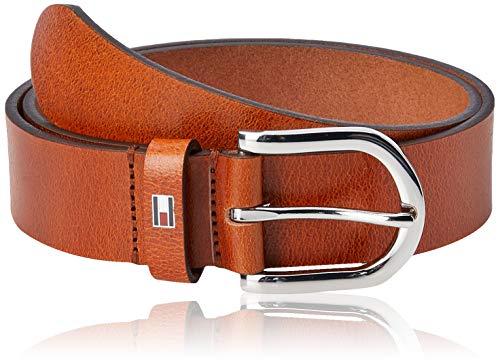 Tommy Hilfiger New Danny Belt Cinturón, Cognac, 95 cm para Mujer