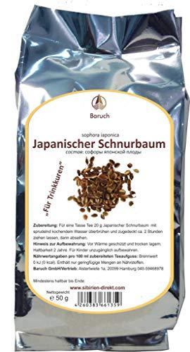 Japanische schnurbaum Früchte (japonicum, Honigbaum, Schnurbaum, Perlschnurbaum, Japanischer Perlschnurbaum, Japanischer Pagodenbaum) - 50g