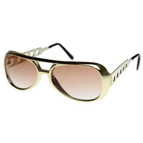 Classic TCB Elvis Celebrity Style Aviator Sunglasses