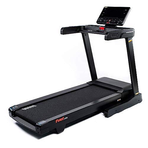 Fuel Fitness LB500 Laufband für zuhause, Laufband elektrisch klappbar, 20 km/h, 15{ac82fb97b163248671f6b071b06ad259a078c6707b66515b1404aa3ba5a501c4} Steigung, 140x51cm riesige Lauffläche, Pulsgurt inkl.