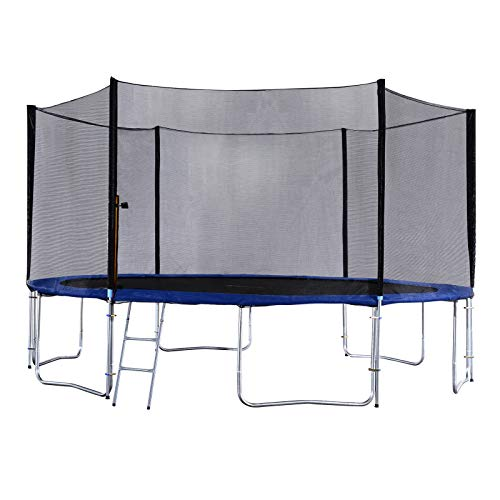 Exacme 15 Foot Heavy Duty Trampoline with Enclosure Net, Safety Pad...