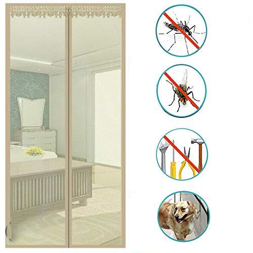 Nileco Magnetisch en full-frame, haak en lus, mute-mesh voor slaapkamerramen, handenvrij