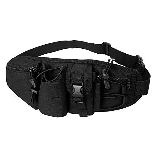 Grey Ghost Bolsa de Cintura Bolsas de Almacenamiento Ajustables y Transpirables Estuche...