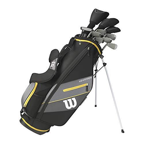 WILSON Herren Ultra XD 2020 Golfschläger Set Mit Stand Tasche Golf Komplettset Eisen Hölzer Driver Bag (Rechtshand/Standardlänge, mit Stahlschaft)