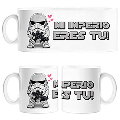 Diver Tazas Taza para Friki Parodia San Valentín mi Imperio Eres tu - Cerámica