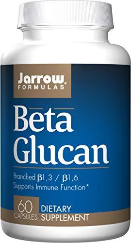 Jarrow Formulas Beta Glucan 250mg, Supports Immune Function, 60 Caps