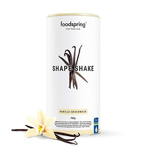 foodspring Shape Shake, Sabor Vainilla, 750g,...
