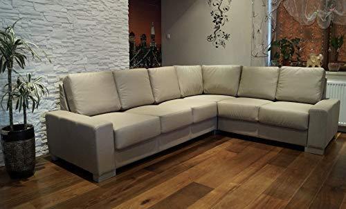 Quattro Meble Hoekbank California 216x272cm Leather Sofa Echt Leather Hoekbank grote kleurenselectie !! !