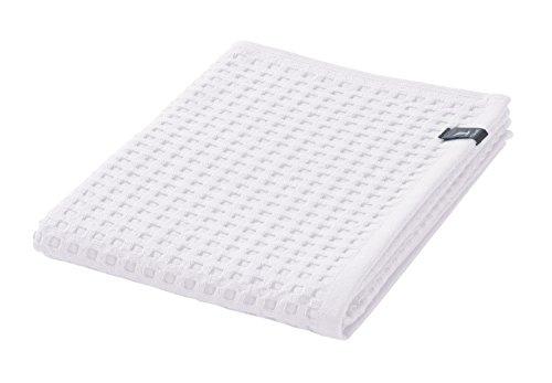 möve Piquée Handtuch 50 x 100 cm aus 100% Baumwolle, snow