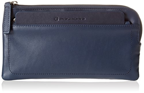 Piquadro portemonnee Iguazu' 20 cm, blauw, referentie AC3679S88