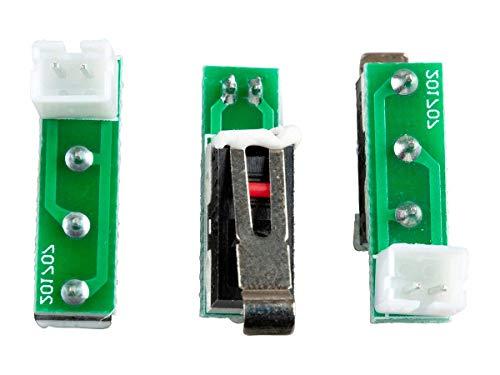 Monoprice MP Mini End Stop Set 3 Pieces | Replacement/Spare Parts for Selective 3D Printers
