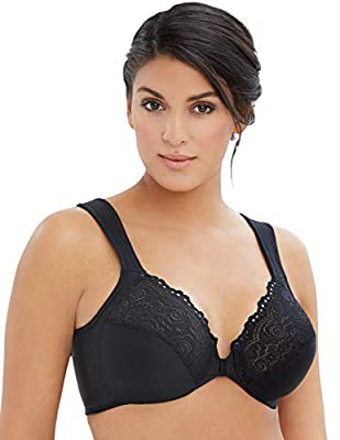 Glamorise Elegance Front Close Wonderwire Bra (1245)