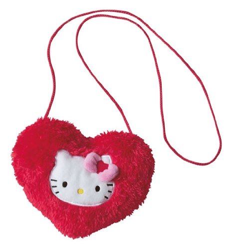 Augusta du Bay - 150909 - Jouet premier Age - Sac Cœur - Hello Kitty - Rouge