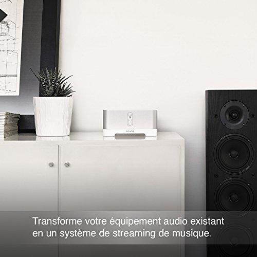 Sonos CONNECT:AMP I Verwandelt vorhandene kabelgebundene Lautsprecher in Sonos Streaming Speaker (grau) - 4