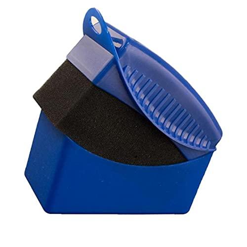 fregthf Rueda de automóvil Pulido Esponja Auto Neumático Cepillo de Esponja Accesorios de Limpieza con Cubierta Azul