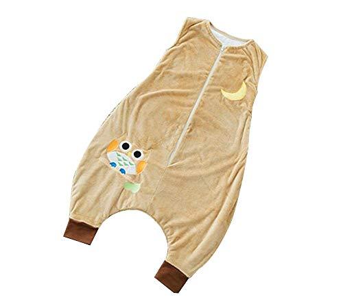 Emmala slaapzak, voor baby's, casual, chique, voor het seizoen, 2,5 tog, voor pasgeborenen, voor het oprollen van de benen en voor kinderen, scheidbaar S Een