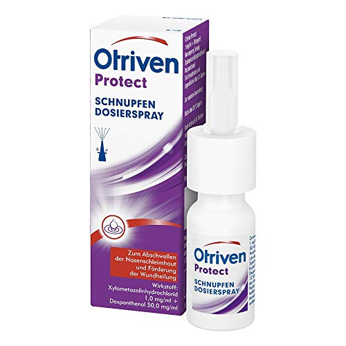 Otriven Protect 1 mg/ml + 50 mg/ml Nasenspray Lösung, 10 ml