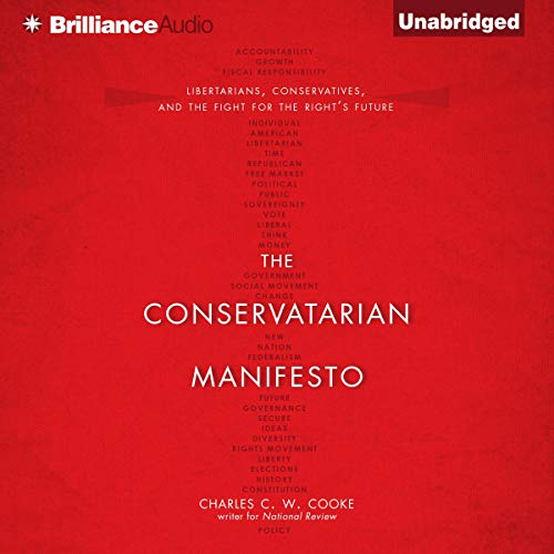 The Conservatarian Manifesto  By  cover art