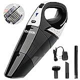 Handheld Vacuum,hikeren Cordless Vacuum Cleaner, 12V 100W with Quick...