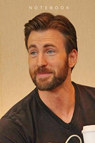 CHRIS EVANS NOTEBOOK : PERFECT FOR GIFT: JOURNAL LINED FOR 110 PAGES 6X9 INCHES