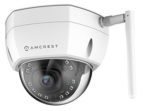 Amcrest 4MP UltraHD Outdoor WiFi IP Security Camera, 4-Megapixel (2688 x 1520), IP67 Weatherproof, MicroSD Storage, IP4M-1028 (White)