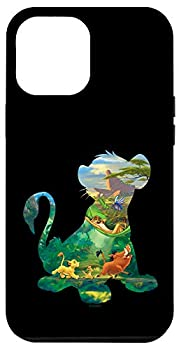 iPhone 12 Pro Max Disney The Lion King Simba Silhouette Fill Case
