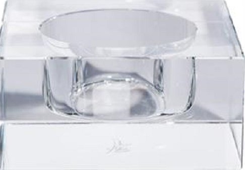 Oleg Cassini Kristall Votiv klar Mod 125241in Geschenkbox