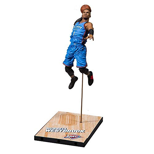 McFarlane Toys NBA Basketball Action Figure Series 33 Russel Westbrook (Oklahoma City Thunder)