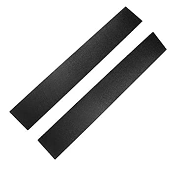 A Pair Of Front Windshield Outer B Pillar Trim Door Molding For Driver and Passenger Side Compatible with 2008-2016 Chrysler Town and Country 2008-2020 Dodge Grand Caravan Replaces 926-446 926-445