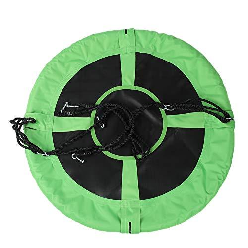 Weikeya Disco DE Swing Ajustable, 100-150 CM Jungle Gym Equipo DE Juego Equipo DE Pantalla DE PANTALIZA DE Correa Pesada Y 600D Paño Oxford