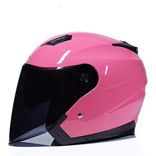 Casco de Motocicleta Casco de Bicicleta eléctrica Scooter Casco de Bicicleta de Motocicleta, 9_XL