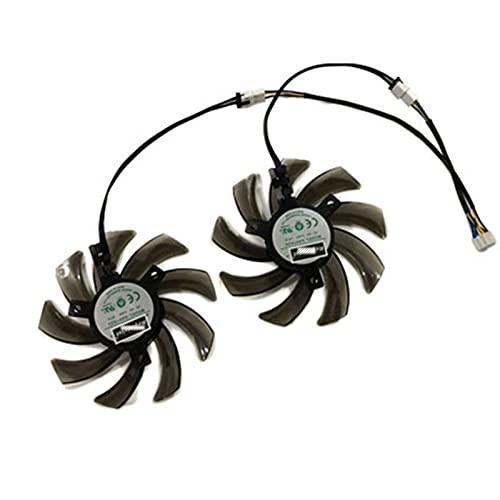 2 unids/Set 87mm (90 mm) GA91S2U GPU Vega del refrigerador de Tarjeta VGA para PALIT GEFORCE GTX 1080 1070TI 1070 1060 Tarjetas de Video duales como reemplazo