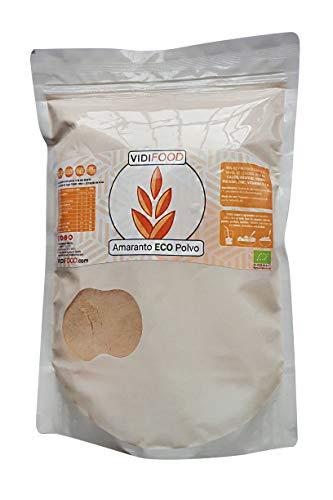 Farine de Amarante Biologique - 1kg - Amarante Moulue Pure - Farine de Graines sans Gluten - Amarante Biologique sans OGM