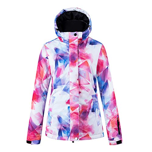 MQAIFEKS Kleurrijke Sneeuwpak Draag Dames Snowboard Kleding Winter Waterdichte Dikke Kostuums Outdoor Ski Jacket + Sneeuw bibs Broek