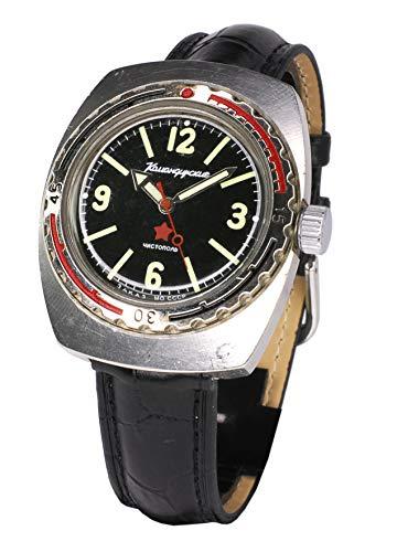 Reloj Komandirskie del Periodo Soviético, serie Numerada, con carga manual, original
