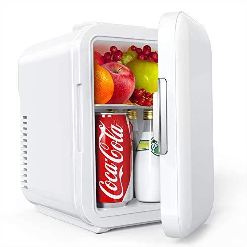 Mini Kühlschrank, Lifelf 4L mobiler...
