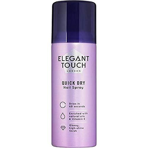 Elegant Touch Schnelltrockender Nagelspray, 125 ml