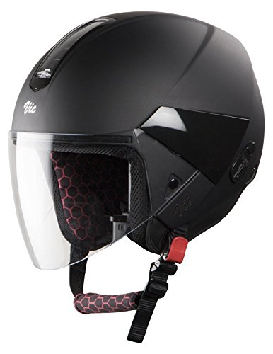 Steelbird Hi-Gn Sbh-5 Vic Female Glossy Volcano Black With Plain Visor, 580...
