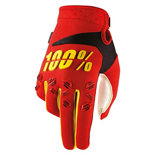 guanti mtb 100 percent 100% Prozent Airmatic Kinder Handschuhe Verstärkt MTB DH MX Motocross Enduro Offroad Quad